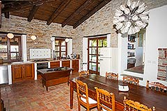 Luxury Property for sale in Piemonte Italy - Kitchen area