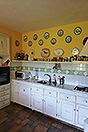 Italian Stone Farmhouse for sale in Piemonte Italy - Kitchen  area