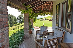 Prestigious Country Home for sale in Piemonte - Terrace area