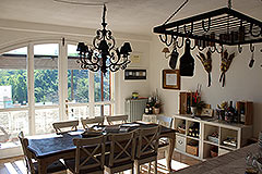 Country House for sale in Piemonte. - Dining area