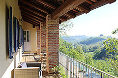 Country House for sale in Piemonte. - Balcony