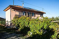 Country Home for sale in the Langhe region of Piemonte - Panoramic position