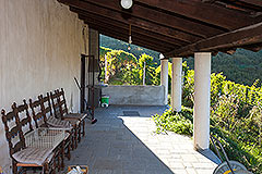 Country Home for sale in the Langhe region of Piemonte - Terrace