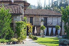 Luxuriöses Steinhaus zum Verkauf im Piemont. - Built from local stone
