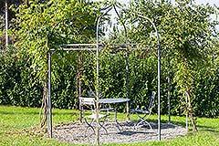 Luxuriöses Steinhaus zum Verkauf im Piemont. - Garden features