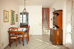 Italian Villa for sale in Piemonte Italy - Dining area