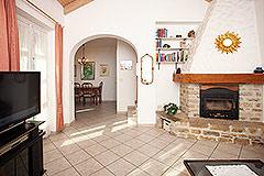 Italian Villa for sale in Piemonte Italy - Living area