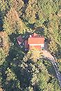 Italian Villa for sale in Piemonte Italy - Aerial view