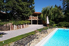 Luxury House for sale in Piemonte - Pool area