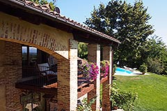 Luxury House for sale in Piemonte - Balcony area