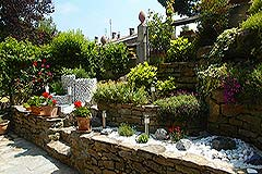 Apartment for sale in Piemonte Italy - Garden area