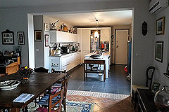 Italian farmhouse for sale in Piemonte - Dining area