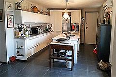 Italian farmhouse for sale in Piemonte - Kitchen area