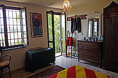 Italian farmhouse for sale in Piemonte - Bedroom