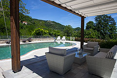 Lussuosa casa in vendita in Piemonte - Villa pool area