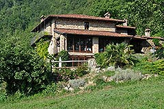 Country Estate for sale in Piemonte Italy - Side view