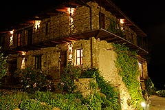 Country Estate for sale in Piemonte Italy - Evening view