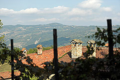 Country Estate for sale in Piemonte Italy - Panoramic position