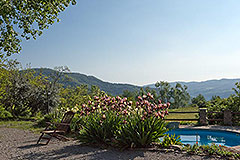 Tenuta di campagna in vendita in Piemonte - Panoramic pool views
