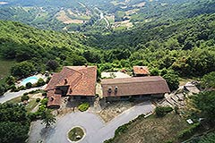 Country Estate for sale in Piemonte Italy - Aerial view