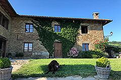 Luxury Property for sale in Piemonte Italy - Front garden area