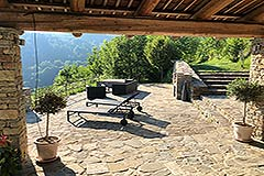 Luxury Property for sale in Piemonte Italy - Terrace area
