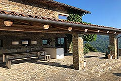 Luxury Property for sale in Piemonte Italy - Terrace built from stone