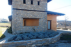 A former school converted into 3 apartments for sale in Piemonte - Built from local stone