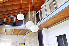 Country House for sale in Piemonte - Exposed wooden ceiling
