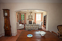 Country House for sale in the Langhe region of Piemonte - Dining area