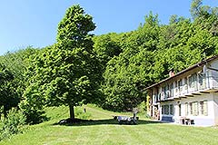 Italian Country house for sale in Piemonte. - Garden area