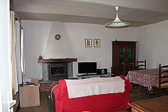 Italian Country house for sale in Piemonte. - Living area