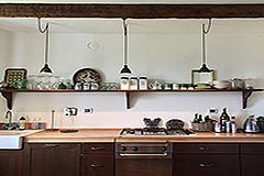 Luxuriöses Steinhaus mit Schwimmbad zum Verkauf im Piemont - Kitchen