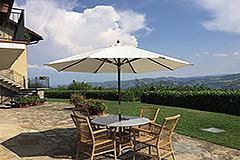 Luxuriöses Steinhaus mit Schwimmbad zum Verkauf im Piemont - Outside living area