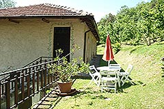 Organic Farm for sale Piemonte - Terrace area