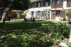 Organic Farm for sale Piemonte - Courtyard