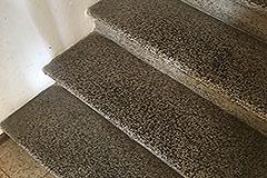 Dorfhaus zum Verkauf im Piemont - Original stairs