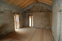 Part restored stone properties for sale in Piemonte. - Interior buiding 1