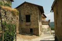 Part restored stone properties for sale in Piemonte. - Exterior building 1