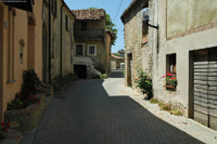 Casette in vendetta nelle Langhe - Lane leading to group of properties in The Langhe