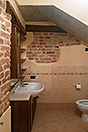 Two village houses for sale in Piemonte - Bathroom
