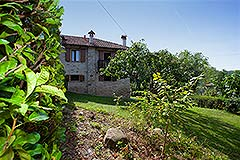 Restored Langhe Stone House and Guest Apartment for sale in Piemonte Italy - Elevated position