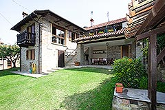 Restored Langhe Stone House and Guest Apartment for sale in Piemonte Italy - Stone Property