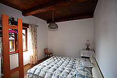 Restored Langhe Stone House and Guest Apartment for sale in Piemonte Italy - Bedroom