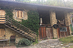 Italian Farmhouse for sale in Piemonte - Hayloft area