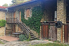Italian Farmhouse for sale in Piemonte - Front view