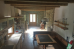 Italian Farmhouse for sale in Piemonte - Dining area