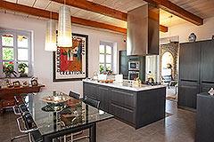 Luxusimmobilie zum Verkauf im Piemont. - Kitchen area