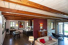 Luxusimmobilie zum Verkauf im Piemont. - Living area
