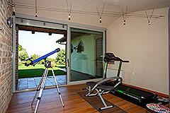 Luxusimmobilie zum Verkauf im Piemont. - Fitness room